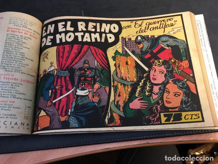 Tebeos: EL GUERRERO DEL ANTIFAZ LOTE 1 A 239 ORIGINALES PRIMERA EDICION MUY BUEN ESTADO 75 CTS 0,75 PTS (HAB - Foto 15 - 78074765