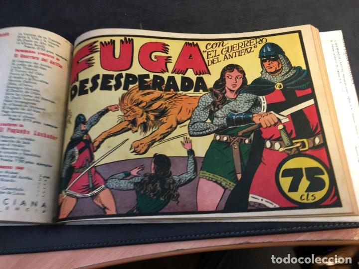 Tebeos: EL GUERRERO DEL ANTIFAZ LOTE 1 A 239 ORIGINALES PRIMERA EDICION MUY BUEN ESTADO 75 CTS 0,75 PTS (HAB - Foto 17 - 78074765