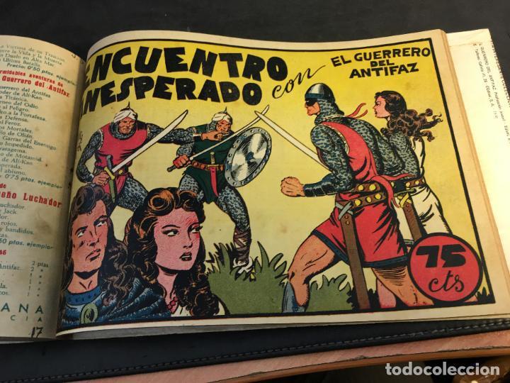 Tebeos: EL GUERRERO DEL ANTIFAZ LOTE 1 A 239 ORIGINALES PRIMERA EDICION MUY BUEN ESTADO 75 CTS 0,75 PTS (HAB - Foto 19 - 78074765