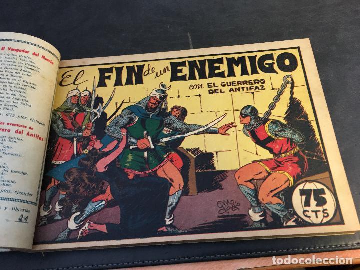 Tebeos: EL GUERRERO DEL ANTIFAZ LOTE 1 A 239 ORIGINALES PRIMERA EDICION MUY BUEN ESTADO 75 CTS 0,75 PTS (HAB - Foto 26 - 78074765