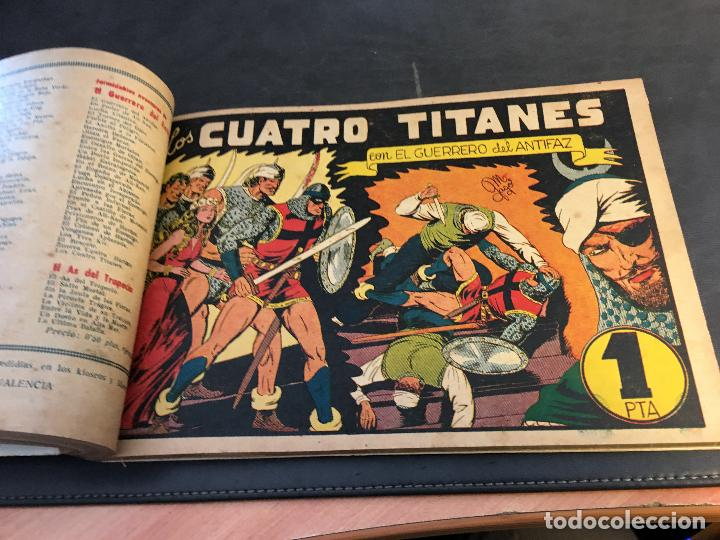 Tebeos: EL GUERRERO DEL ANTIFAZ LOTE 1 A 239 ORIGINALES PRIMERA EDICION MUY BUEN ESTADO 75 CTS 0,75 PTS (HAB - Foto 32 - 78074765