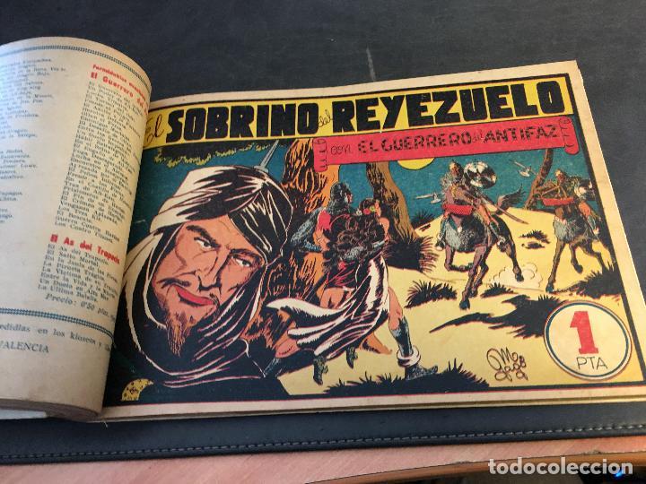 Tebeos: EL GUERRERO DEL ANTIFAZ LOTE 1 A 239 ORIGINALES PRIMERA EDICION MUY BUEN ESTADO 75 CTS 0,75 PTS (HAB - Foto 33 - 78074765