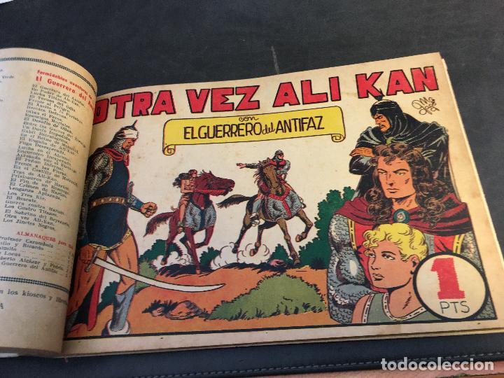 Tebeos: EL GUERRERO DEL ANTIFAZ LOTE 1 A 239 ORIGINALES PRIMERA EDICION MUY BUEN ESTADO 75 CTS 0,75 PTS (HAB - Foto 34 - 78074765