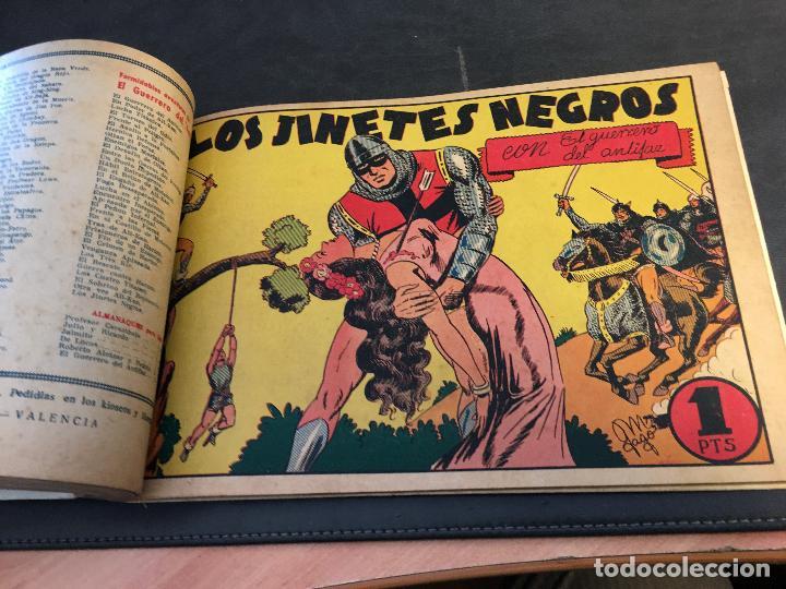 Tebeos: EL GUERRERO DEL ANTIFAZ LOTE 1 A 239 ORIGINALES PRIMERA EDICION MUY BUEN ESTADO 75 CTS 0,75 PTS (HAB - Foto 35 - 78074765