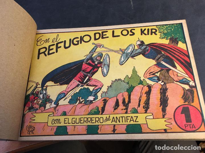 Tebeos: EL GUERRERO DEL ANTIFAZ LOTE 1 A 239 ORIGINALES PRIMERA EDICION MUY BUEN ESTADO 75 CTS 0,75 PTS (HAB - Foto 38 - 78074765