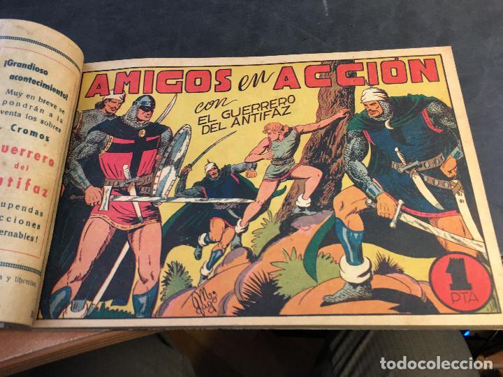 Tebeos: EL GUERRERO DEL ANTIFAZ LOTE 1 A 239 ORIGINALES PRIMERA EDICION MUY BUEN ESTADO 75 CTS 0,75 PTS (HAB - Foto 41 - 78074765
