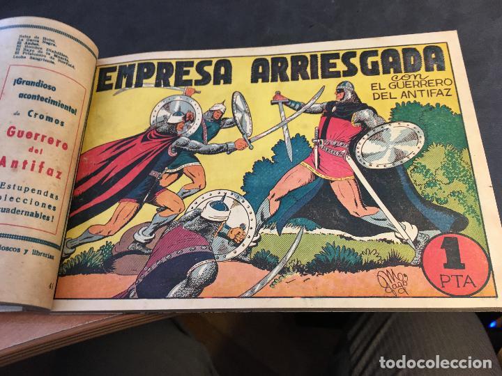 Tebeos: EL GUERRERO DEL ANTIFAZ LOTE 1 A 239 ORIGINALES PRIMERA EDICION MUY BUEN ESTADO 75 CTS 0,75 PTS (HAB - Foto 43 - 78074765