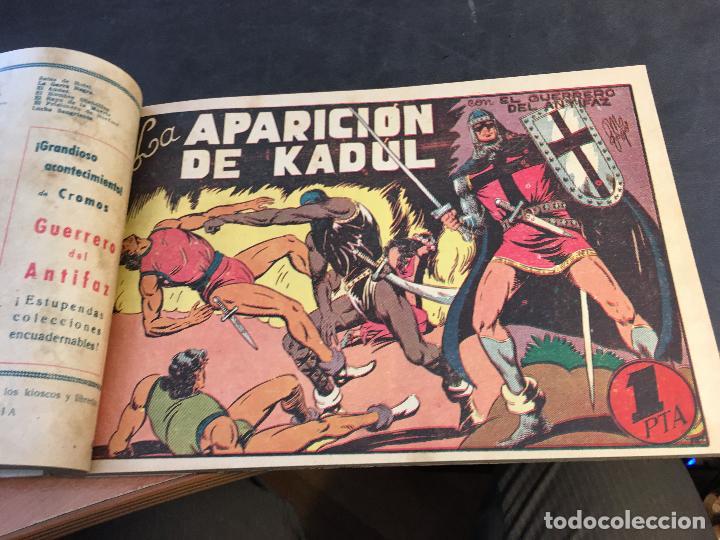 Tebeos: EL GUERRERO DEL ANTIFAZ LOTE 1 A 239 ORIGINALES PRIMERA EDICION MUY BUEN ESTADO 75 CTS 0,75 PTS (HAB - Foto 44 - 78074765