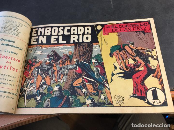 Tebeos: EL GUERRERO DEL ANTIFAZ LOTE 1 A 239 ORIGINALES PRIMERA EDICION MUY BUEN ESTADO 75 CTS 0,75 PTS (HAB - Foto 45 - 78074765