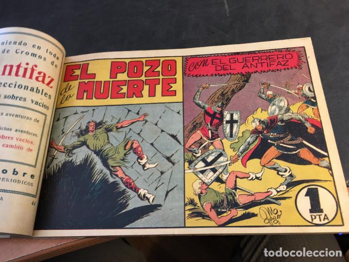 Tebeos: EL GUERRERO DEL ANTIFAZ LOTE 1 A 239 ORIGINALES PRIMERA EDICION MUY BUEN ESTADO 75 CTS 0,75 PTS (HAB - Foto 46 - 78074765