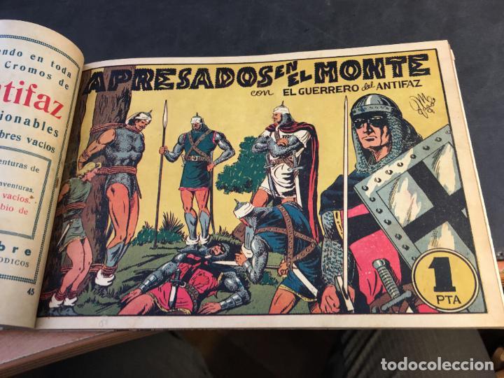 Tebeos: EL GUERRERO DEL ANTIFAZ LOTE 1 A 239 ORIGINALES PRIMERA EDICION MUY BUEN ESTADO 75 CTS 0,75 PTS (HAB - Foto 47 - 78074765