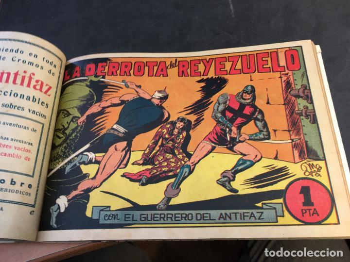 Tebeos: EL GUERRERO DEL ANTIFAZ LOTE 1 A 239 ORIGINALES PRIMERA EDICION MUY BUEN ESTADO 75 CTS 0,75 PTS (HAB - Foto 49 - 78074765