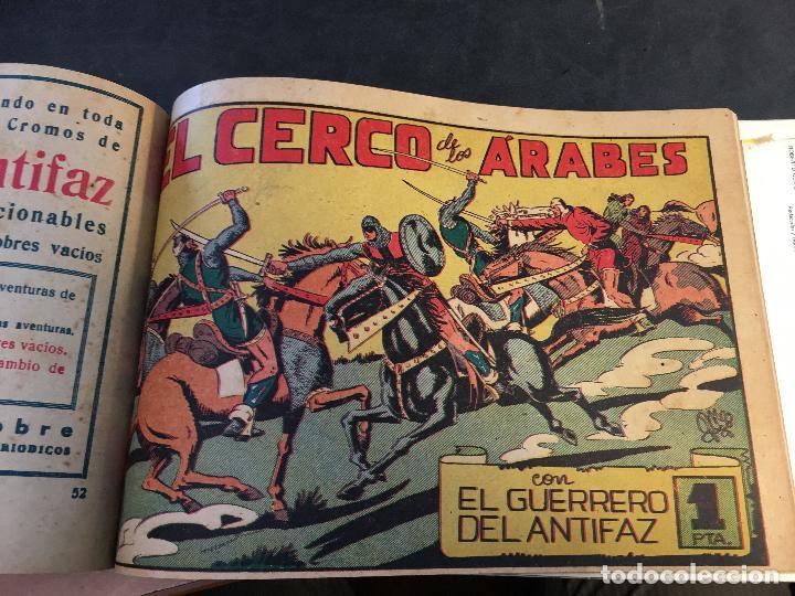 Tebeos: EL GUERRERO DEL ANTIFAZ LOTE 1 A 239 ORIGINALES PRIMERA EDICION MUY BUEN ESTADO 75 CTS 0,75 PTS (HAB - Foto 54 - 78074765
