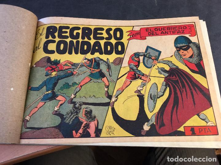 Tebeos: EL GUERRERO DEL ANTIFAZ LOTE 1 A 239 ORIGINALES PRIMERA EDICION MUY BUEN ESTADO 75 CTS 0,75 PTS (HAB - Foto 56 - 78074765