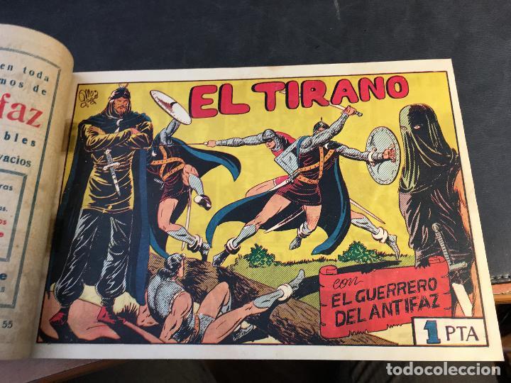 Tebeos: EL GUERRERO DEL ANTIFAZ LOTE 1 A 239 ORIGINALES PRIMERA EDICION MUY BUEN ESTADO 75 CTS 0,75 PTS (HAB - Foto 57 - 78074765
