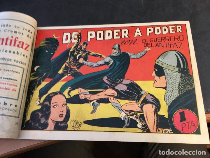 Tebeos: EL GUERRERO DEL ANTIFAZ LOTE 1 A 239 ORIGINALES PRIMERA EDICION MUY BUEN ESTADO 75 CTS 0,75 PTS (HAB - Foto 58 - 78074765