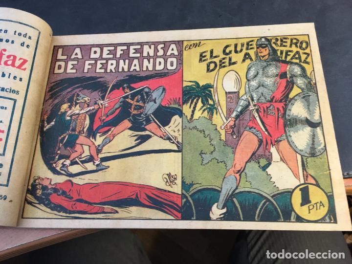 Tebeos: EL GUERRERO DEL ANTIFAZ LOTE 1 A 239 ORIGINALES PRIMERA EDICION MUY BUEN ESTADO 75 CTS 0,75 PTS (HAB - Foto 61 - 78074765