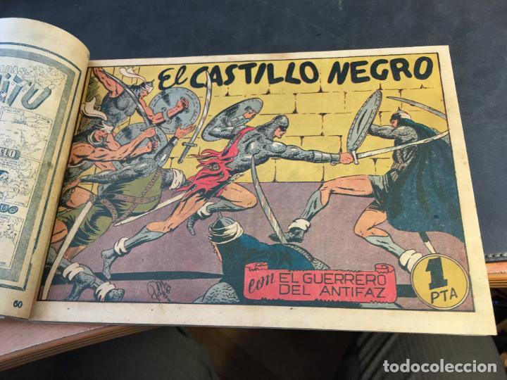 Tebeos: EL GUERRERO DEL ANTIFAZ LOTE 1 A 239 ORIGINALES PRIMERA EDICION MUY BUEN ESTADO 75 CTS 0,75 PTS (HAB - Foto 62 - 78074765