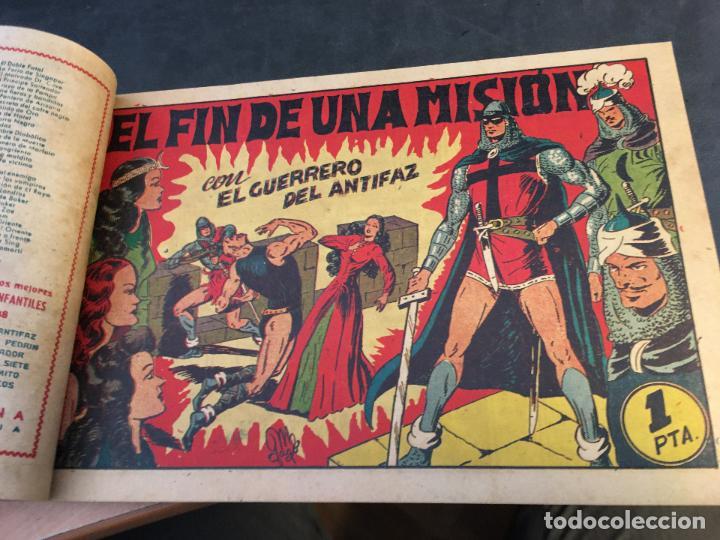 Tebeos: EL GUERRERO DEL ANTIFAZ LOTE 1 A 239 ORIGINALES PRIMERA EDICION MUY BUEN ESTADO 75 CTS 0,75 PTS (HAB - Foto 64 - 78074765