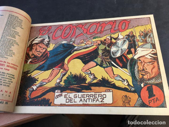 Tebeos: EL GUERRERO DEL ANTIFAZ LOTE 1 A 239 ORIGINALES PRIMERA EDICION MUY BUEN ESTADO 75 CTS 0,75 PTS (HAB - Foto 65 - 78074765