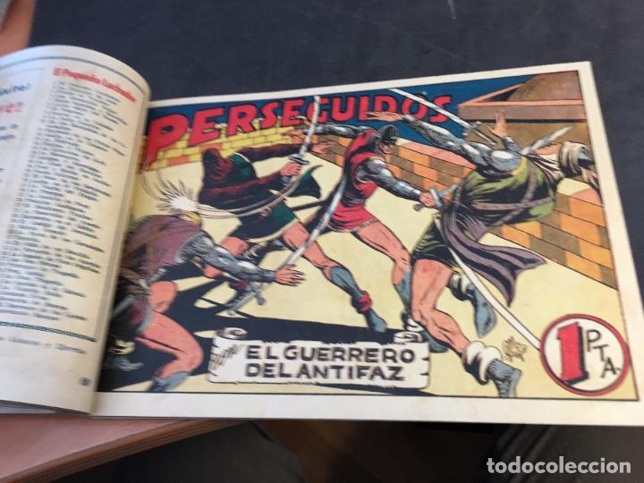 Tebeos: EL GUERRERO DEL ANTIFAZ LOTE 1 A 239 ORIGINALES PRIMERA EDICION MUY BUEN ESTADO 75 CTS 0,75 PTS (HAB - Foto 70 - 78074765