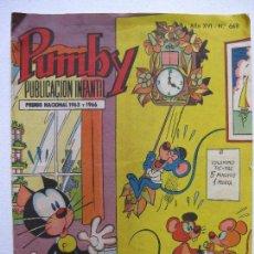 Tebeos: PUMBY Nº668 - EDITORIAL VALENCIANA. Lote 78227669