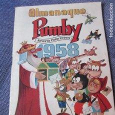 Tebeos: ALMANAQUE PUMBY 1958- ORIGINAL -EXCELENTE ESTADO. Lote 78288709