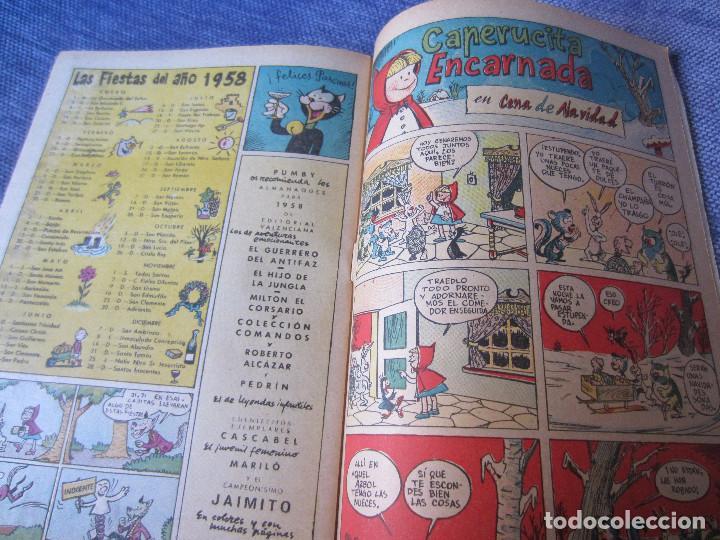 Tebeos: ALMANAQUE PUMBY 1958- ORIGINAL -EXCELENTE ESTADO - Foto 10 - 78288709