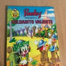 Tebeos - LIBROS ILUSTRADOS PUMBY Nº 26. SOLDADITO VALIENTE. EDITORIAL VALENCIANA 1970 - 78432193