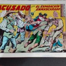 Tebeos: ESPADACHIN ENMASCARADO N°42 2EDICION VALENCIANA 1982. Lote 78581033