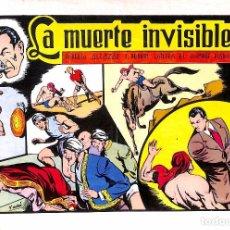 Tebeos: LA MUERTE INVISIBLE Nº 58 - ROBERTO ALCÁZAR Y PEDRÍN. Lote 78616257