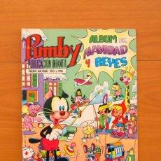 Tebeos: PUMBY - ÁLBUM DE NAVIDAD Y REYES 1971 - EDITORIAL VALENCIANA. Lote 79034049
