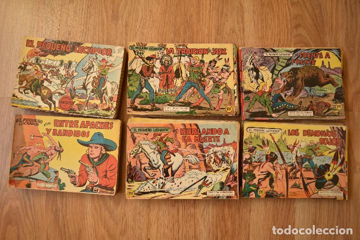 EL PEQUEÑO LUCHADOR ORIGINAL COMPLETA 1 AL 243 VALENCIANA (Tebeos y Comics - Valenciana - Pequeño Luchador)