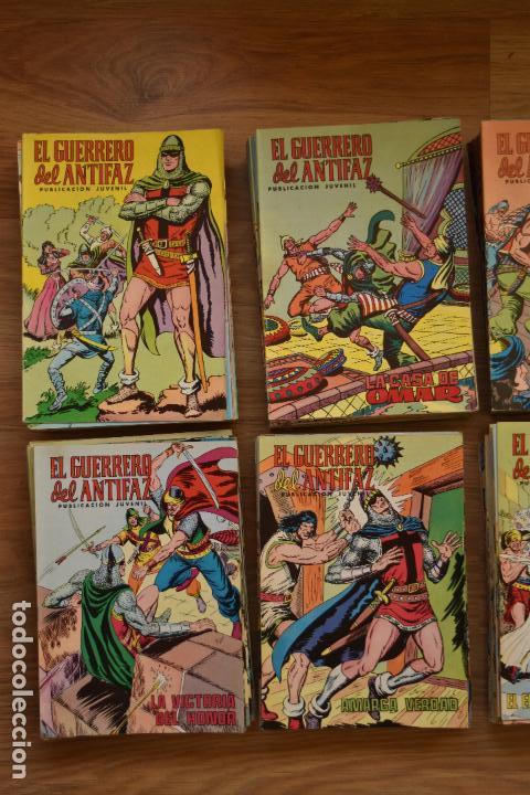 Tebeos: EL GUERRERO DEL ANTIFAZ COLOR 1 AL 343 COMPLETA, MUY BUEN ESTADO Y SUELTA - Foto 4 - 79173097