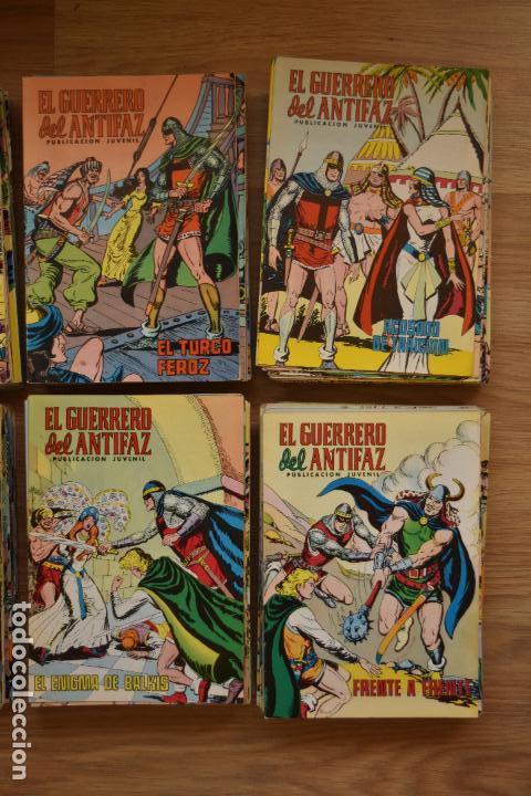 Tebeos: EL GUERRERO DEL ANTIFAZ COLOR 1 AL 343 COMPLETA, MUY BUEN ESTADO Y SUELTA - Foto 6 - 79173097