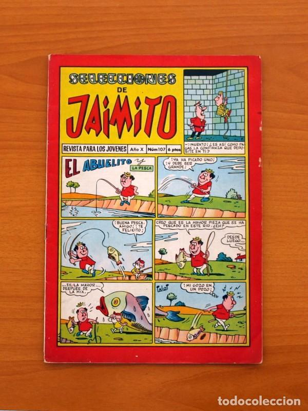 SELECCIONES DE JAIMITO, Nº 107 - EDITORIAL VALENCIANA 1957 (Tebeos y Comics - Valenciana - Jaimito)