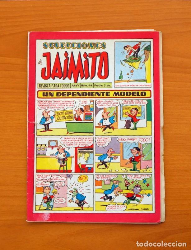 SELECCIONES DE JAIMITO, Nº 46 - EDITORIAL VALENCIANA 1957 (Tebeos y Comics - Valenciana - Jaimito)