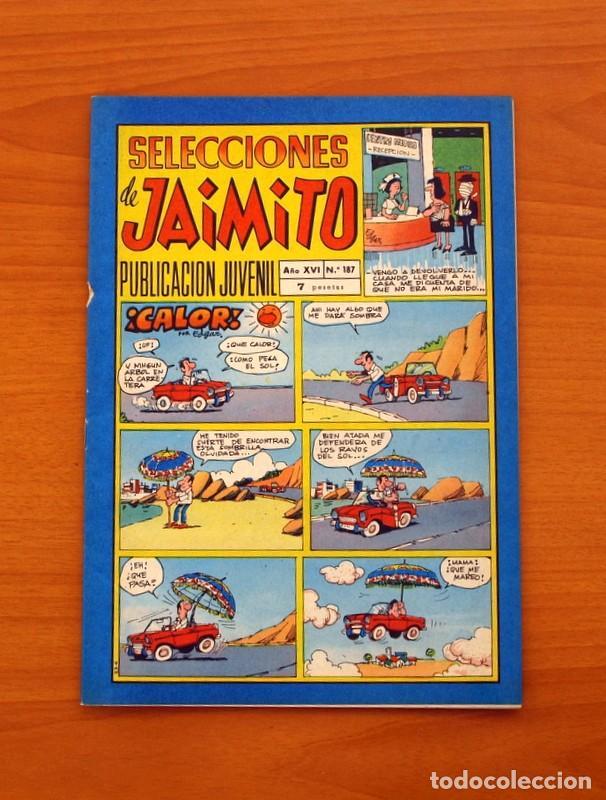 SELECCIONES DE JAIMITO, Nº 187 - EDITORIAL VALENCIANA 1957 (Tebeos y Comics - Valenciana - Jaimito)