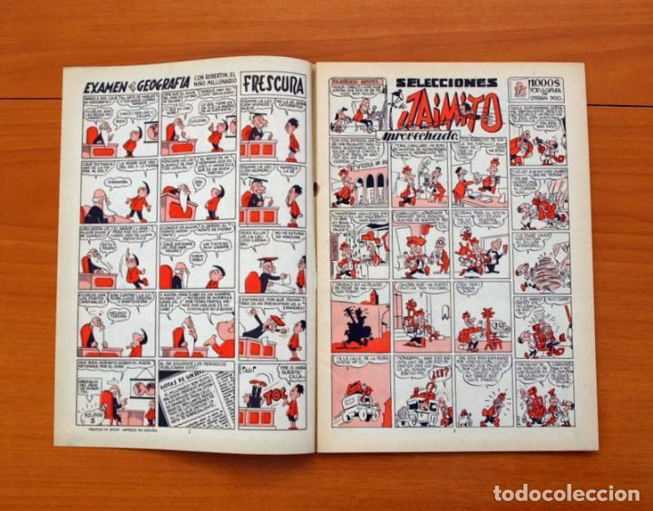 Tebeos: Selecciones de Jaimito, nº 187 - Editorial Valenciana 1957 - Foto 2 - 79846501