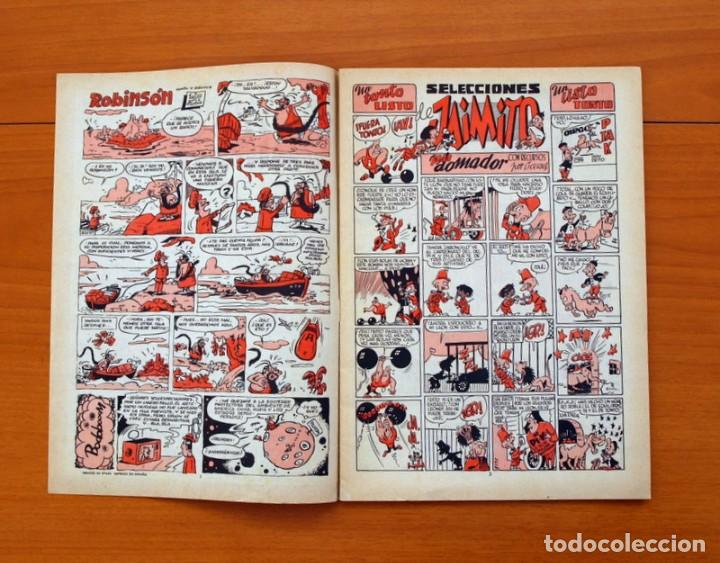 Tebeos: Selecciones de Jaimito, nº 186 - Editorial Valenciana 1957 - Foto 2 - 79846917