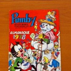 Tebeos: PUMBY - ALMANAQUE 1978 - EDITORIAL VALENCIANA. Lote 79857665