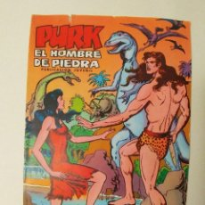 Tebeos: PURK - EL HOMBRE DE PIEDRA - NÚMEROS 1 Y 3 - AÑO 1974 - SELECCION EDIVAL - ED VALENCIANA. Lote 80159173