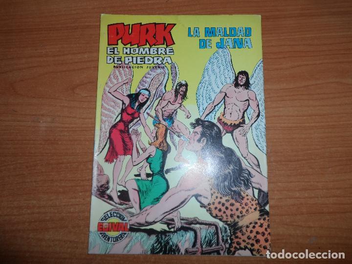 PURK EL HOMBRE DE PIEDRA Nº 101 EDITORIAL VALENCIANA COLOR (Tebeos y Comics - Valenciana - Purk, el Hombre de Piedra)