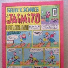 Tebeos: SELECCIONES DE JAIMITO Nº 182 EDITORIAL VALENCIANA. Lote 80347781