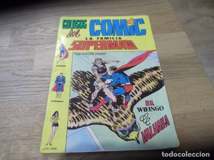 LA FAMILIA SUPERMÁN. COLOSOS DEL COMIC. VALENCIANA. Nº 9. 1979. EL VIKINGO DE VALHALLA. (Tebeos y Comics - Valenciana - Colosos del Comic)