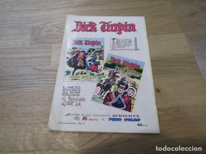 Tebeos: La familia Supermán. Colosos del comic. Valenciana. Nº 9. 1979. El vikingo de Valhalla. - Foto 2 - 80429449