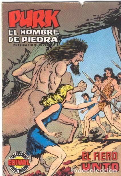 PURK, EL HOMBRE DE PIEDRA. COLOR. Nº 45 (Tebeos y Comics - Valenciana - Purk, el Hombre de Piedra)