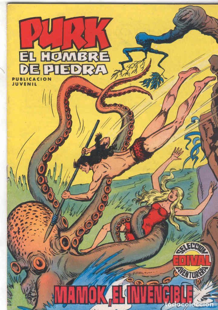 PURK, EL HOMBRE DE PIEDRA. COLOR. Nº 4 (Tebeos y Comics - Valenciana - Purk, el Hombre de Piedra)