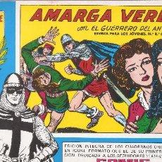 Tebeos: EL GUERRERO DEL ANTIFAZ Nº 49 - AMARGA VERDAD - HOMENAJE A M. GAGO - ED. VALENCIANA, 1982.. Lote 80587394