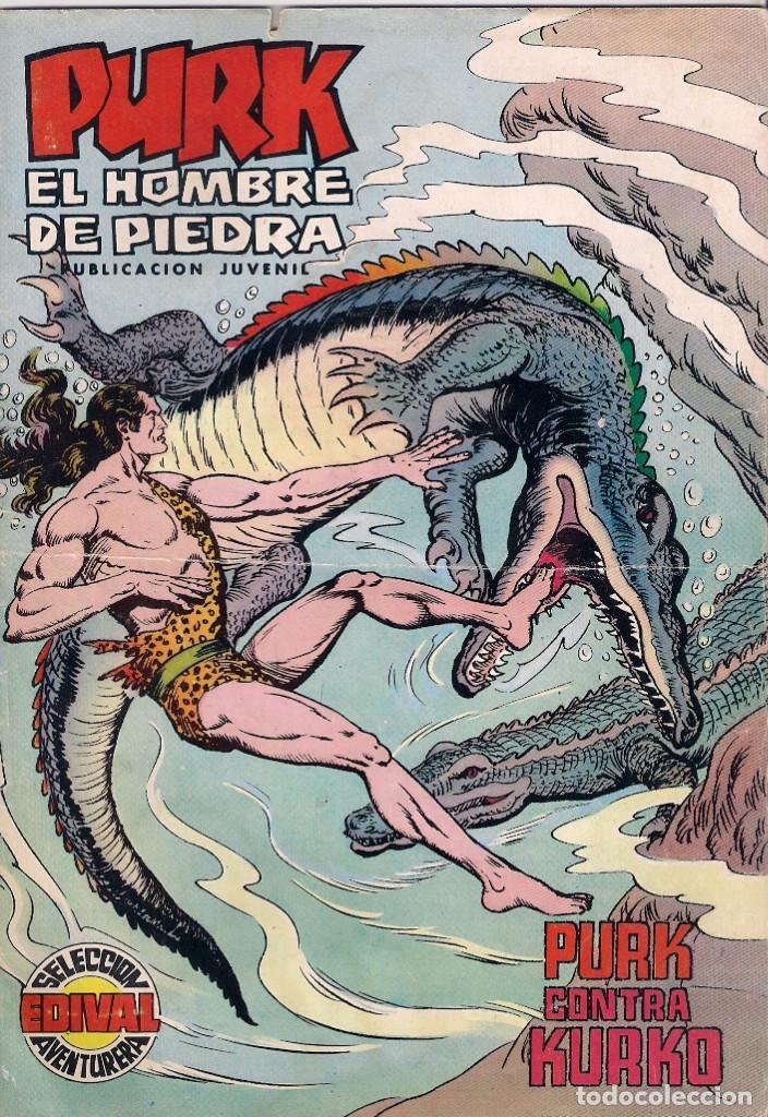 PURK, EL HOMBRE DE PIEDRA. COLOR. Nº 64 (Tebeos y Comics - Valenciana - Purk, el Hombre de Piedra)